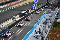 June 3, 2018 - Le Mans, FRANCE - 48 IDEC SPORT (FRA) ORECA 07 GIBSON LMP2 PAUL LAFARGUE (FRA) PAUL LOUP CHATIN (FRA) MEMO ROJAS  (Credit Image: © Panoramic via ZUMA Press)