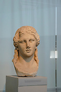 Head of Dionysus at the Archaeological Museum of Thasos is a museum located in Limenas on the island of Thasos, East Macedonia, Greece