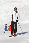 Fotosessie met de koninklijke familie in Lech /// Photoshoot with the Dutch royal family in Lech .<br /> <br /> Op de foto / On the photo: Prins Willem Alexander //// Crown Prince Willem Alexander