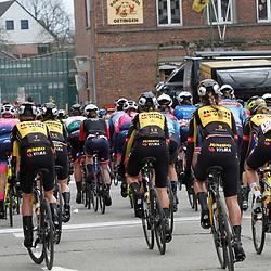 14-03-2021: Wielrennen: GP Oetingen: Oetingen: Team Jumbo-Visma