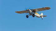 Hood River Sheriff's Super Cub taking off.