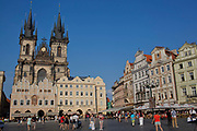 Old town square; Prague, Czech Republic.