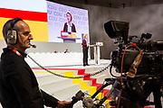 Ursula von der Leyen beim 31. Bundesparteitag der CDU in Hamburg, Deutschland, 8. Dezember 2018