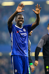 Kurt Zouma of Chelsea, Chelsea celebrate at the end of the match, final score Chelsea 4-3 Watford - Mandatory by-line: Jason Brown/JMP - 15/05/2017 - FOOTBALL - Stamford Bridge - London, England - Chelsea v Watford - Premier League