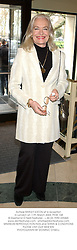 Actress SHIRLEY EATON at a reception in London on 11th March 2003.PHW 168