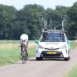 EMMEN (NED wielrennen <br /> Tijdrit Topcompetitie Emmen Sjoerd Bax