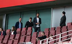 Sami Khedira seen in the stands before kick off - Mandatory by-line: Arron Gent/JMP - 28/07/2019 - FOOTBALL - Emirates Stadium - London, England - Arsenal Women v Bayern Munich Women - Emirates Cup