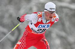 Gasper Berlot of Slovenia at Nordic Combined Individual Gundersen NH, 10 km, at FIS Nordic World Ski Championships Liberec 2008, on February 22, 2009, in Vestec, Liberec, Czech Republic. (Photo by Vid Ponikvar / Sportida)