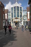 Cornhill shopping centre, Bury St Edmunds, Suffolk, England