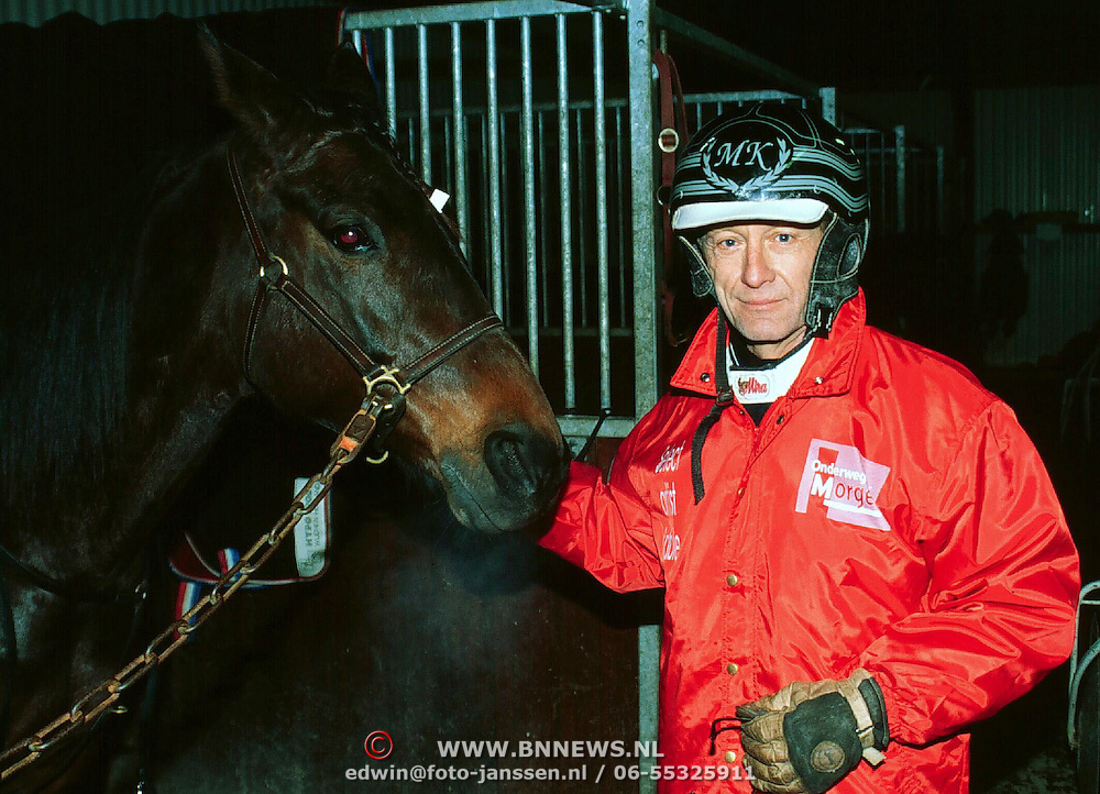 Doop ONM Veronica paard Wolvega, Hidde Maas als piquer met paard
