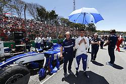 November 12, 2017 - Sao Paulo, Brazil - Motorsports: FIA Formula One World Championship 2017, Grand Prix of Brazil, .#94 Pascal Wehrlein (GER, Sauber F1 Team) (Credit Image: © Hoch Zwei via ZUMA Wire)
