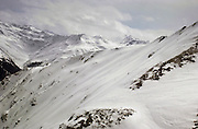 The Wang ski run, Gotschnagrat near Klosters  in Switzerland