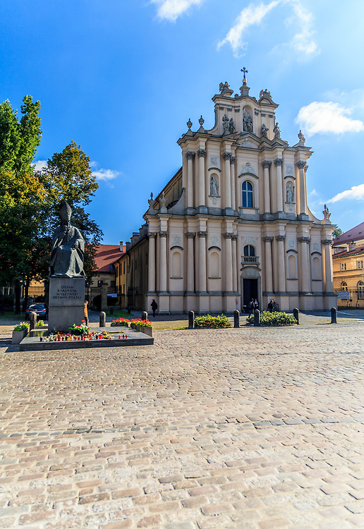 Church of St. Joseph of the Visitationists in Warsaw, Poland.  Fryderyk Chopin used to play the church organ here, mainly during services for schoolchildren.