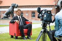 Herve Renard - 26.05.2015 - Conference de Presse - Presentation du Nouvel Entraineur de Lille<br /> Photo : Andre Ferreira / Icon Sport