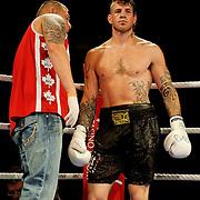 Paul Tyrl vs James Dearmin - Cruiserweight Professional Boxing - Photo Archive