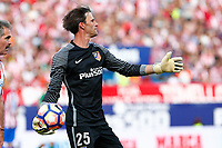Leo Franco during the last match to be played by Atletico de Madrid at Vicente Calderon Stadium in Madrid, May 28, 2017. Spain.. (ALTERPHOTOS/Rodrigo Jimenez)
