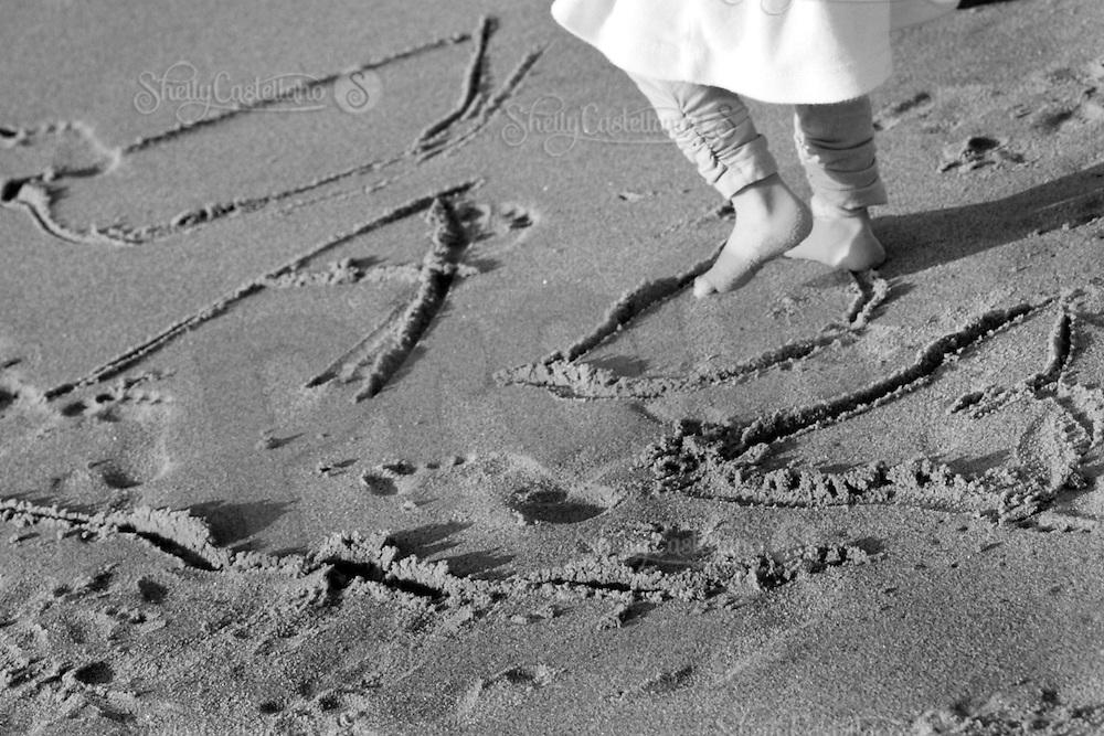 18 February 2009:  Roy family in Laguna Beach, CA.  Laura, Brooke, Summer and Savannah at the beach in Southern California.