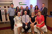 John Kennedy Stealth Manufacturing (overall winner), and family  at the JFC Innovation awards sponsored by Teagasc, DARD Northern Ireland and the Irish Farmers Journal at the Claregalway Hotel. Photo:Andrew Downes