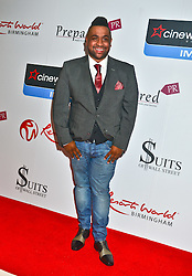 Jordan Reed seen at the VIP red carpet screening of Fifty Shades of Grey at the CineWorld Birmingham. EXPA Pictures © 2015, PhotoCredit: EXPA/ Photoshot/ Jules Annan<br /> <br /> *****ATTENTION - for AUT, SLO, CRO, SRB, BIH, MAZ only*****