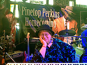 Oct. 7, 2012- Blues piano player Ann Rabson plays piano in Clarksdale on the Hobson Plantation for the Pinetop Perkins Homecoming celebration a few months before she passed away from cancer.