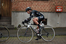 Lucy Garner (Wiggle High5) at the 112.8 km Le Samyn des Dames on March 1st 2017, from Quaregnon to Dour, Belgium. (Photo by Sean Robinson/Velofocus)