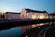 Oranienburg Palace in Oranienburg, the capital of the Oberhavel area ofBrandenburg, Germany. .
