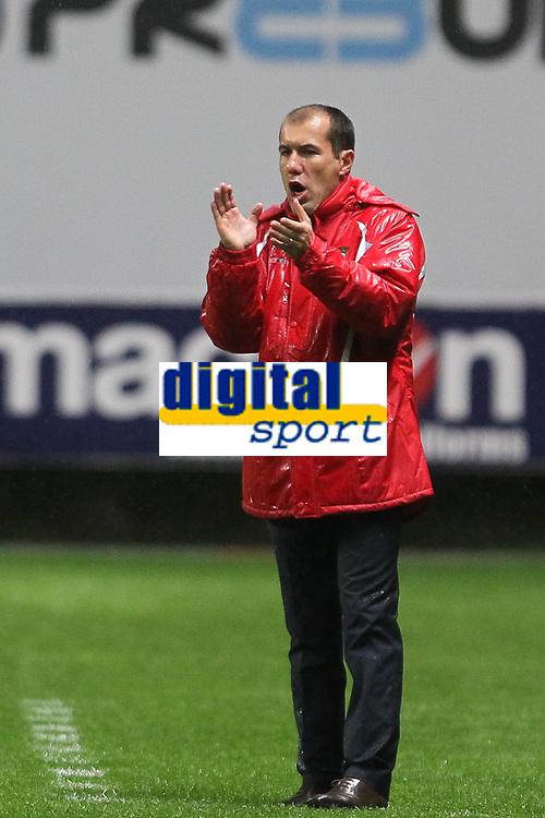 20111103 Braga: SC Braga vs. NK Maribor, UEFA Europa League, Group H, 4th round. In picture: Braga coach Leonardo Jardim. Photo: Pedro Benavente/Cityfiles