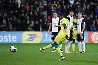 Goal Serge GAKPE - 16.12.2014 - Nantes / Metz - Coupe de la Ligue -<br />Photo : Vincent Michel / Icon Sport