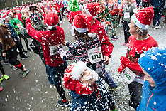 Netherlands- Ugly Sweater Run In Amsterdam - 17 Dec 2016
