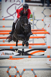 Beezie Madden, (USA), Cortes C - Jumping Second Round Team Competition - Alltech FEI World Equestrian Games™ 2014 - Normandy, France.<br /> © Hippo Foto Team - Dirk Caremans<br /> 04/09/14