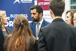 Pictured: <br /> Humza Yousaf, MSP, minister for Transport and the Islands joined the Edinburgh Community Safety Partnership as they officially launched Edinburgh's Transport Charter aimed at eradicating hate crime on all forms of transport in the city. Each of the organisations involved with the partnership will outline their approach to responding to incidents.  The launch will be followed by two days of action where representatives will be in transport hubs, promoting an understanding of hate crime, raising awareness of the charter and how to report unacceptable behaviours. Charter Representatives: Transport and Environment Convener, Lesley Macinnes, Alex Hynes from the Scotrail Alliance, Michael Powell from Edinburgh Trams, Jason Hackett from First Buses, Superintendent Richard Horan from Police Scotland, Chief Inspector Sue Maxwell from British Transport Police and Transport Scotland. Allister McKillop Vice Chair of Equality Transport Advisory Group (ETAG) and representatives from the Access Panel, Hollaback, SCOREScotland, NKS, Edinburgh Women's Interfaith Group and SESTran along with students from Currie High School<br /> <br /> Ger Harley | EEm 27 June  2017