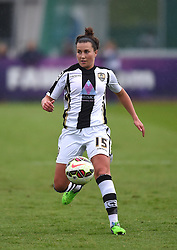 Notts County Ladies FC's Amy Turner - Photo mandatory by-line: Paul Knight/JMP - Mobile: 07966 386802 - 25/04/2015 - SPORT - Football - Bristol - Stoke Gifford Stadium - Bristol Academy Women v Notts County Ladies FC - FA Women's Super League