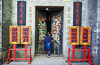 Chine, Macao, Sam Kai Vui Kun Temple // China, Macau, Sam Kai Vui Kun Temple