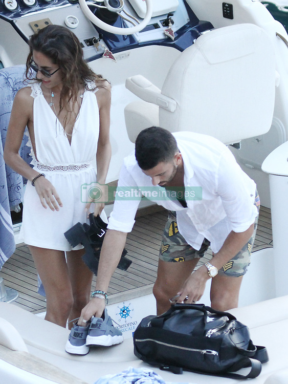 Argentinian player Mateo Musacchio (Milan A.C.) spotted in Portofino with girl friend Irene Gonzalez Toboso. 30 Jul 2017 Pictured: Mateo Musacchio, Irene Gonzalez Toboso. Photo credit: Ceres / MEGA TheMegaAgency.com +1 888 505 6342