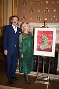 MATTHEW ORR; SYBIL ROBSON ORR;  TenTen. The Government Art Collection/Outset Annual Award. Champagne reception to announce the inaugural artist Hurvin Anderson and unveil his 2018 print. Locarno Suite, Foreign and Commonwealth Office. SW1. 2 October 2018