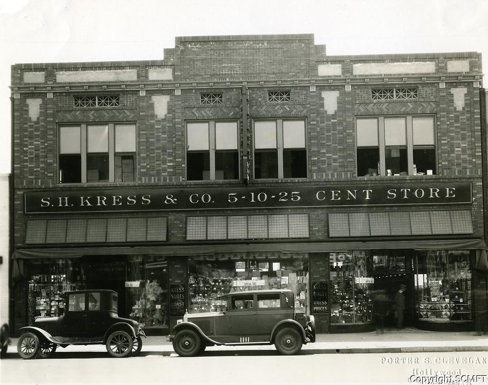 1923 Kress & Co. at 6612 Hollywood Blvd.