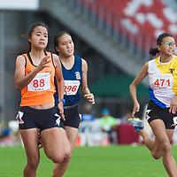 B Div Girls 100m