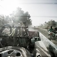The ride back out, Ethiopia.