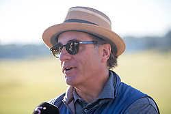 Andy Garcia. Alfred Dunhill Links Championship this afternoon at St Andrews.