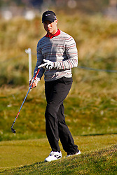 04.10.2012, Old Course, St. Andrews, SCO, European Golf Tour, Alfred Dunhill Links Championship, im Bild Olympian and Paralympian Oscar Pistorious // during the European Golf Tour, Alfred Dunhill Links Championship at the Old Course, St. Andrews, Scotland on 2012/10/04. EXPA Pictures © 2012, PhotoCredit: EXPA/ Mitchell Gunn