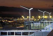 DEU, Germany, Hesse, Frankfurt, Airport Frankfurt, runway and gates in front of the Terminal 2.....DEU, Deutschland, Hessen, Frankfurt am Main, Flughafen, Rollfeld und Gates vor dem Terminal 2...