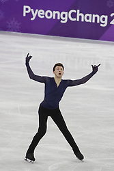 February 17, 2018 - Pyeongchang, KOREA - Dmitri Aliev of Olympic Athlete from Russia competing in the men's figure skating free skate program during the Pyeongchang 2018 Olympic Winter Games at Gangneung Ice Arena. (Credit Image: © David McIntyre via ZUMA Wire)