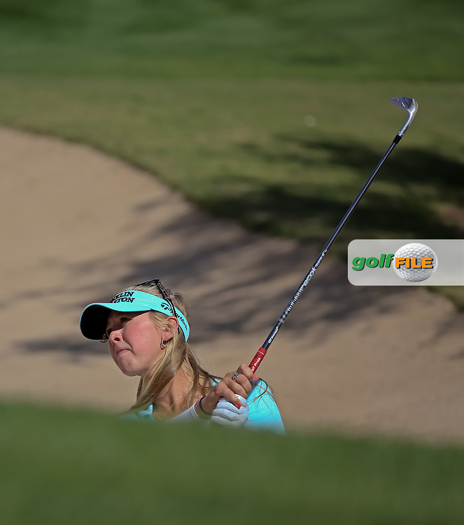 22 MAR15 Fan favorite Jess Korda at Sunday's Final Round of the JTBC Founder's Cup at The Wildfire Golf Club in Scottsdale, Arizona. (photo credit : kenneth e. dennis/kendennisphoto.com)