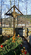 Cmentarz Zasłużonych na Pęksowym Brzyzku - grób Sabały, Zakopane