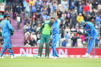 Cricket - 2019 ICC Cricket World Cup - Group Stage: South Africa vs. India<br /> <br /> Yuzvendra Chahal of India celebrates bowling and catching David Miller of South Africa during the cricket world cup match at the Hampshire Bowl Southampton England<br /> <br /> COLORSPORT/SHAUN BOGGUST