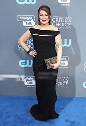 23rd Annual Critics' Choice Awards - Arrivals. 11 Jan 2018 Pictured: Amber Nash. Photo credit: Jaxon / MEGA TheMegaAgency.com +1 888 505 6342