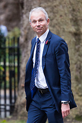 London, October 31 2017. Lord Chancellor and Secretary of State for Justice David Lidington attends the UK cabinet meeting at Downing Street. © Paul Davey
