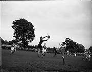 05/06/1955<br /> 06/05/1955<br /> 05 June 1955<br /> F.A.I. Minor Cup Final, Tower Rovers v Drumcondra at Whitehall, Dublin.
