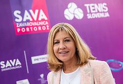 PORTOROZ, SLOVENIA - SEPTEMBER 19:    Mima Jausovec during the WTA 250 Zavarovalnica Sava Portoroz at SRC Marina, on September 19, 2021 in Portoroz / Portorose, Slovenia. Photo by Vid Ponikvar / Sportida