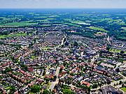 Nederland, Overijssel, Gemeente Dinkelland, 21–06-2020; zicht op Denekamp, Oost-Nederland, Twente nabij de grens met Duitsland.<br /> <br /> luchtfoto (toeslag op standaard tarieven);<br /> aerial photo (additional fee required)<br /> copyright © 2020 foto/photo Siebe Swart